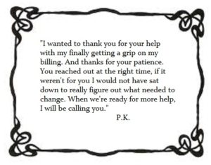 PK thank you note